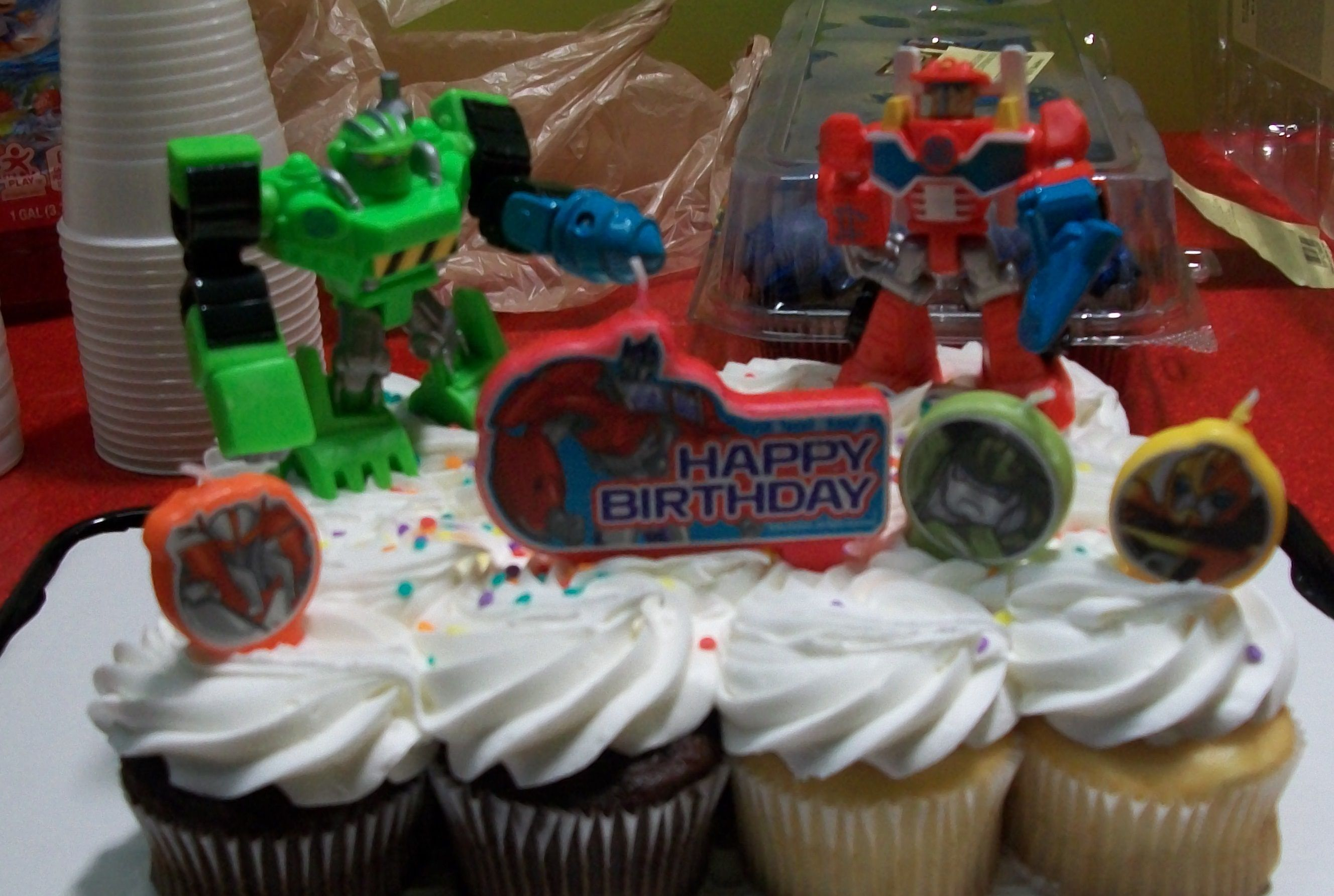 Tranformers Rescue Bots TransformersTM Prime Candles And Toys From Walgreens