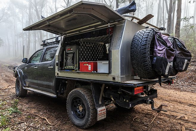 Styretched Hilux 8 Badass Vehicles Ute Canopy