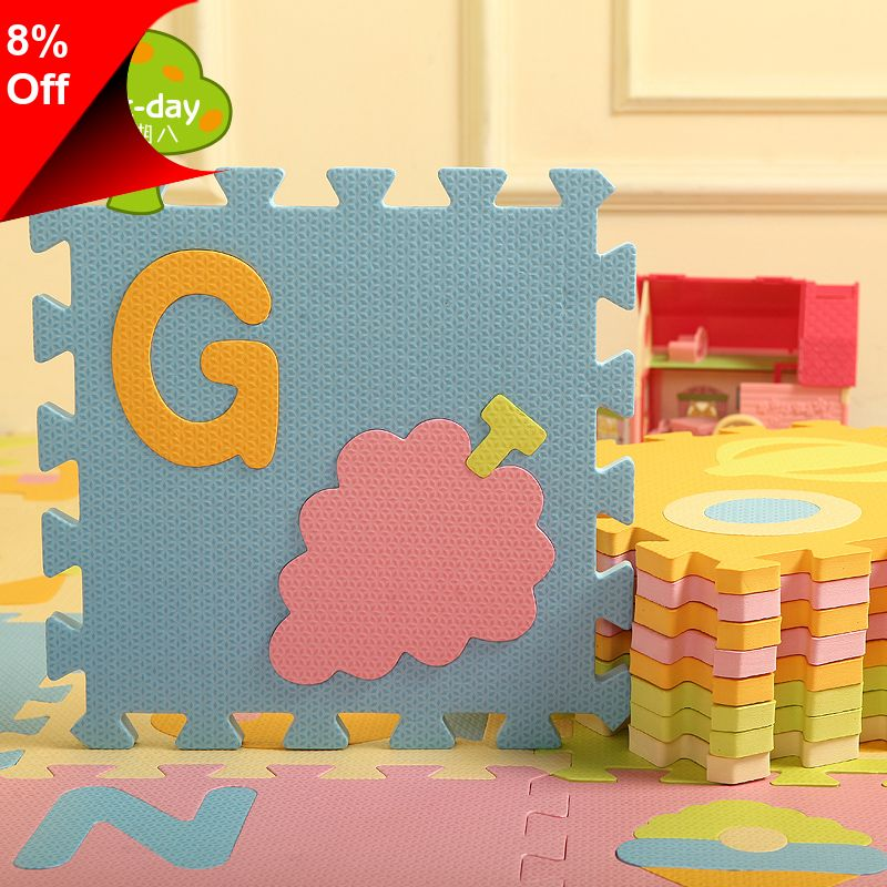 [Only 64.39] Week eight new arrival child letter puzzle