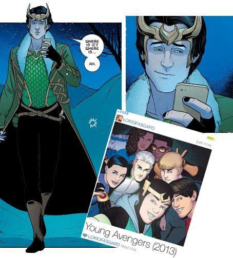loki young avengers - Google Search