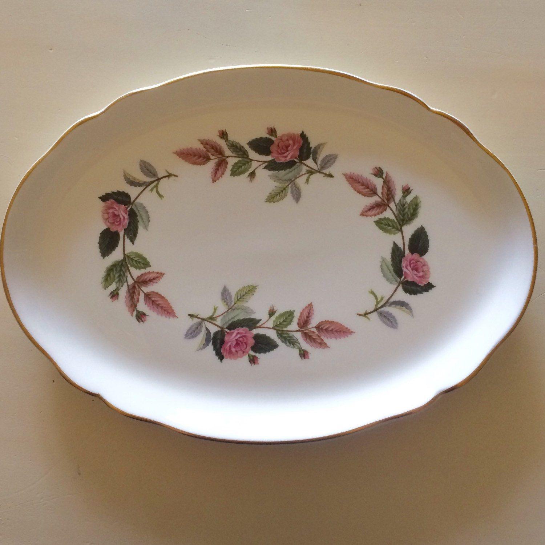 Wedgwood trinket tray wedgwood hathaway rose china wedgwood