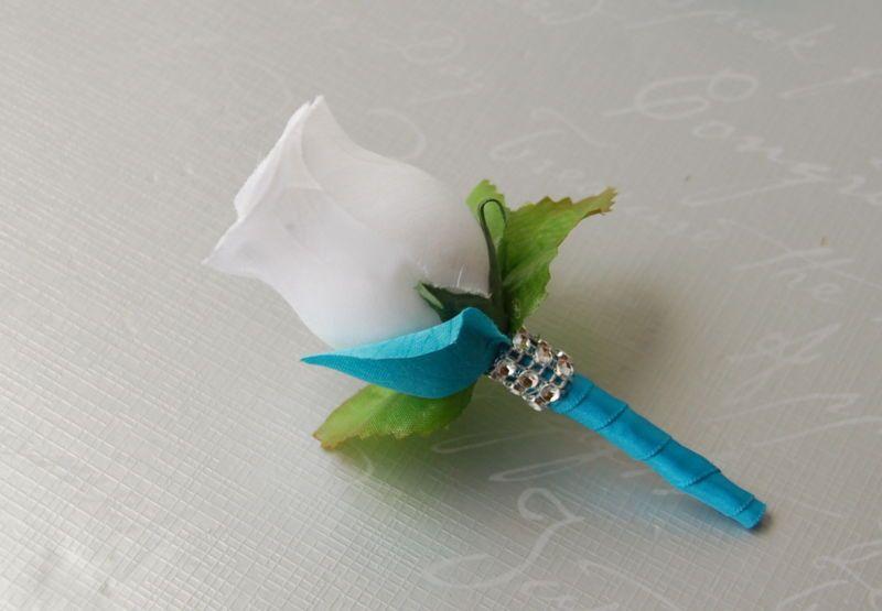 13pc turquoise white wedding bouquetsboutonnierescorsagesrose 13pc turquoise white wedding bouquetsboutonnierescorsagesrose peony silver fake flowerssilk mightylinksfo