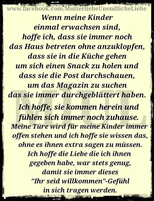 Pin Von Wimmer P Auf Spruche Pinterest Quotes Love My Kids Und