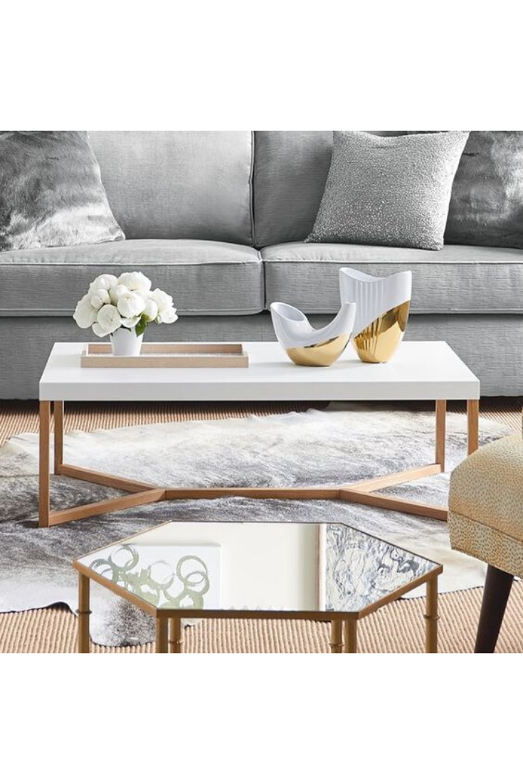 How To Decorate A Coffee Table 11 Styling Tips Coffee Table Contemporary Coffee Table Coffee Table White [ 1102 x 735 Pixel ]