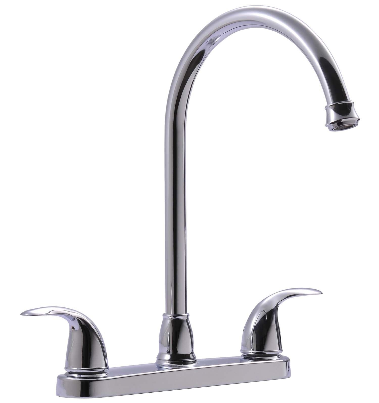 Ultra Faucets Uf21000 Vantage Collection Two Handle Kitchen Faucet