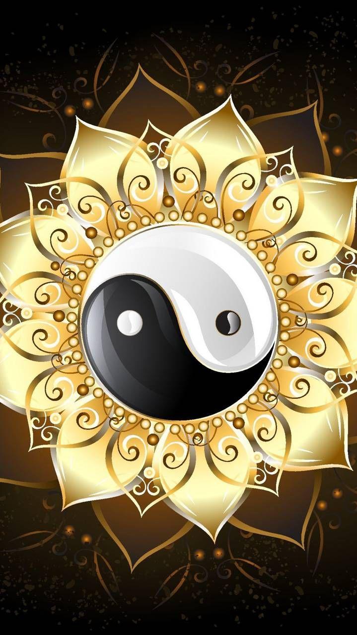 Pattern Amulet Yin yang tattoos, Yin yang designs