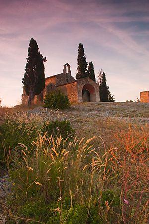France ◇ Provence-- Eygalieres Provence Saint Sixte Chapel