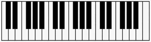 free piano keyboard diagram to print out for your students printable beginner piano keys piano keyboard diagram to print out