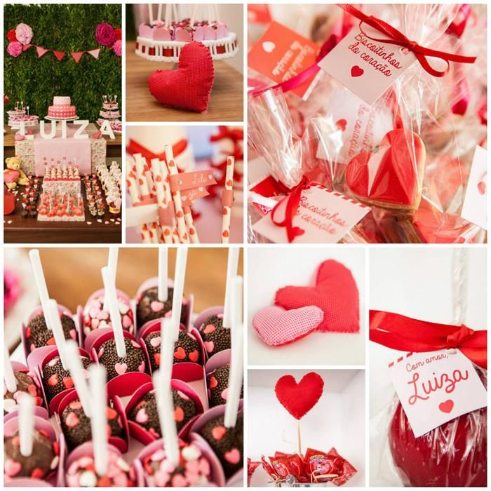 a heart party with lots of cute ideas via kara 39 s party ideas valentine 39 s day pinterest. Black Bedroom Furniture Sets. Home Design Ideas