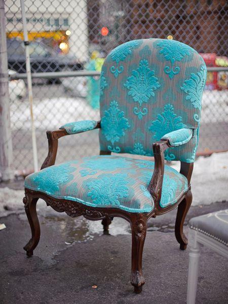 Beautiful fauteuil chair