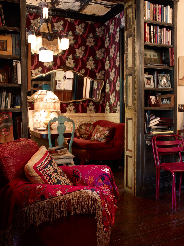 BROWNSTONE BOUDOIR in 2019 | Home decor, Bohemian decor ...