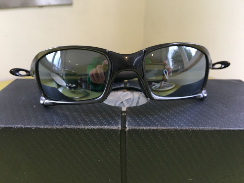 cecd975c256b2 Oakley X-squared Polished Carbon Black Iridium Polarized Pristine - with  box