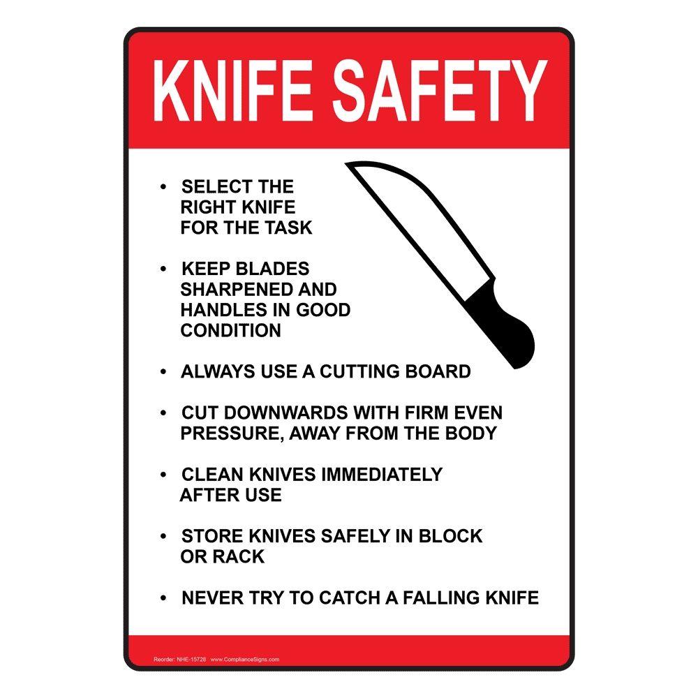 Kitchen Creating Food Prep Kitchen Safety Sign Nhe