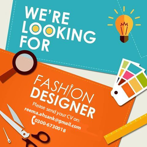 Fashion Designer Required Seeking A Young Creative And Experienced Fashion Designer For Well Known Apparel Brand Qualifi Design Skills Fashion Design Design