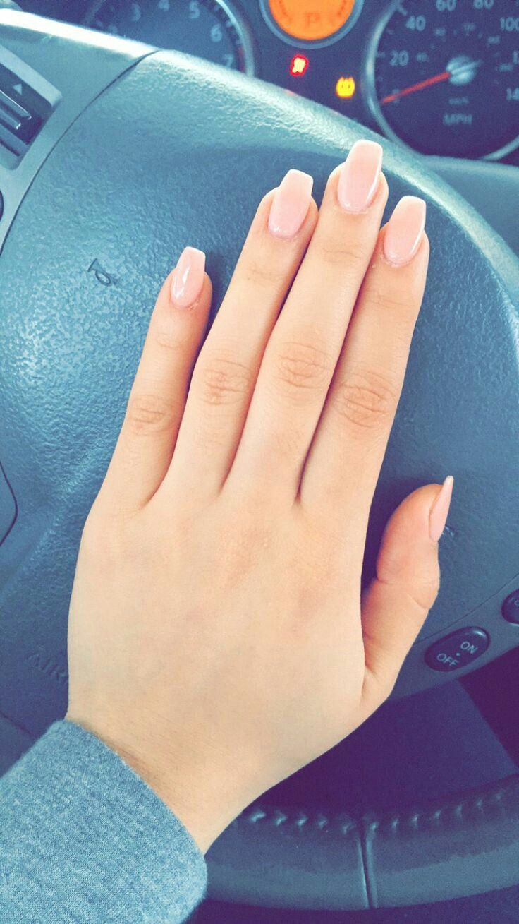 Love the shape and the color!❤ | Nails | Pinterest | Shapes ...