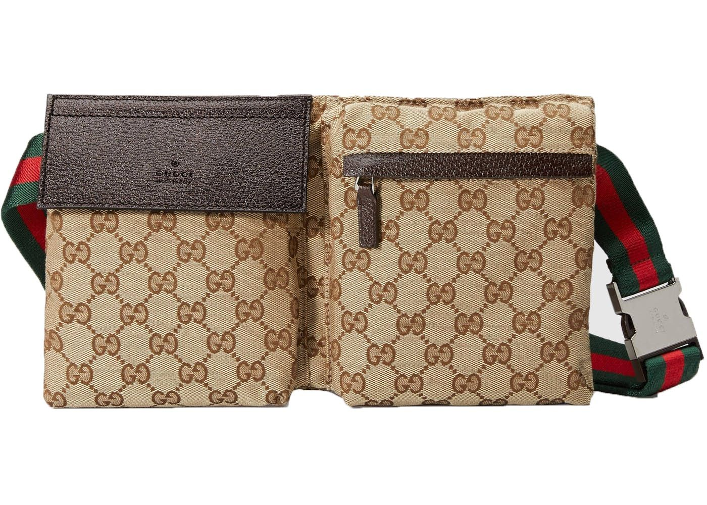 f1c9989b3f0e Gucci Waist Bag Monogram Gg Web Strap