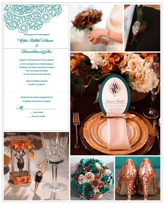 Teal Wedding Ideas For Reception: Exclusively Weddings Invitations Wedding Favors Gifts