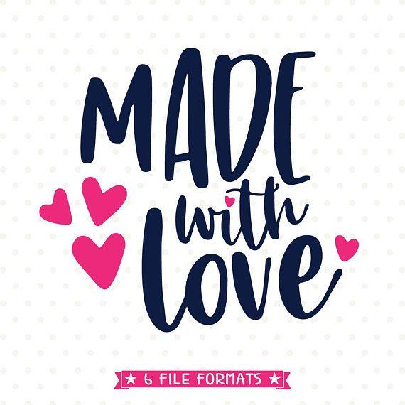 Download Newborn SVG, Made with Love SVG for Newborn, Love SVG, New ...