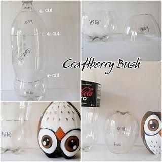 lechuza con botella de plastico =))