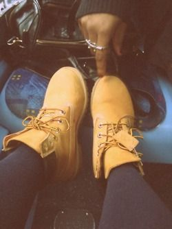 No one will ever understand my obsession with Timberlands!