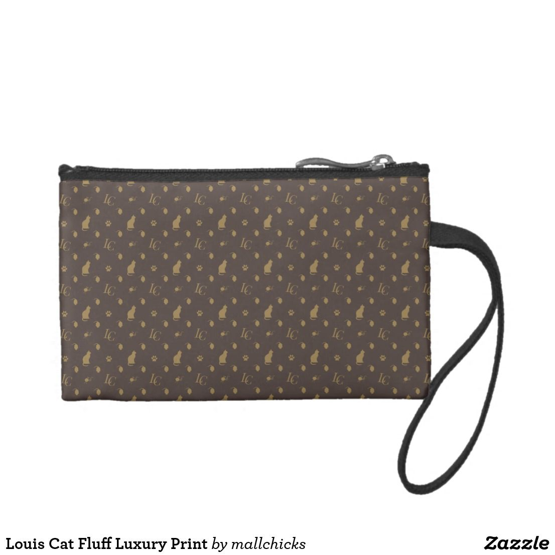 aae316a756 Louis cat fluff luxury print change purse custom accessory bags jpg  1106x1106 Fluff purses and products