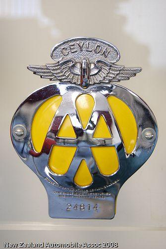 Aa Ceylon Badge