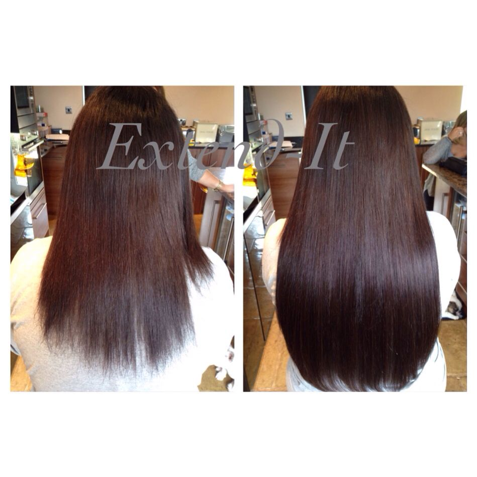 Prestige Remy Microring Hair Extensions Fitted By