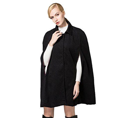 giacca donna a mantella