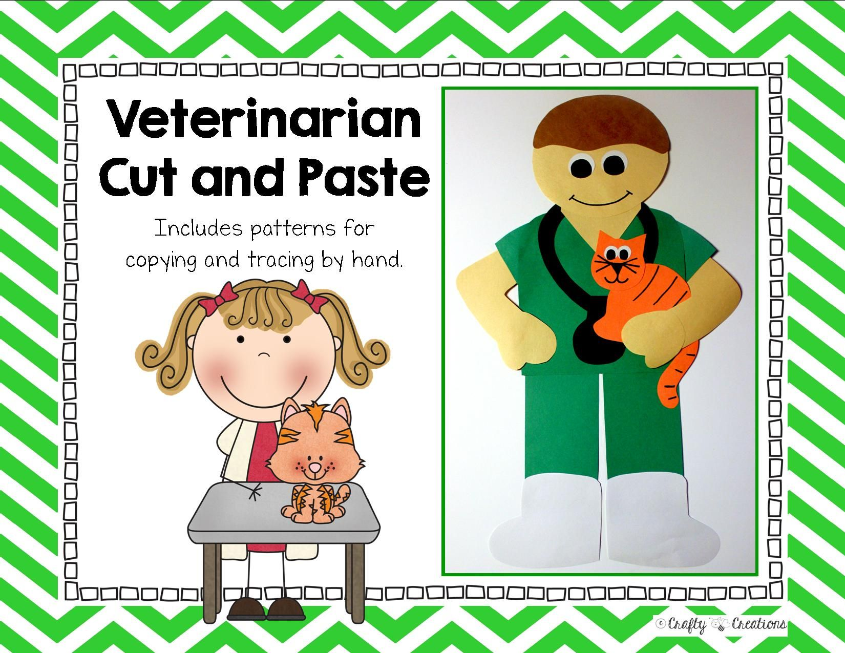 Community Helper Craft Veterinarian