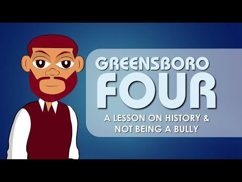 Greensboro Four (Black History) Educational Videos for Students
