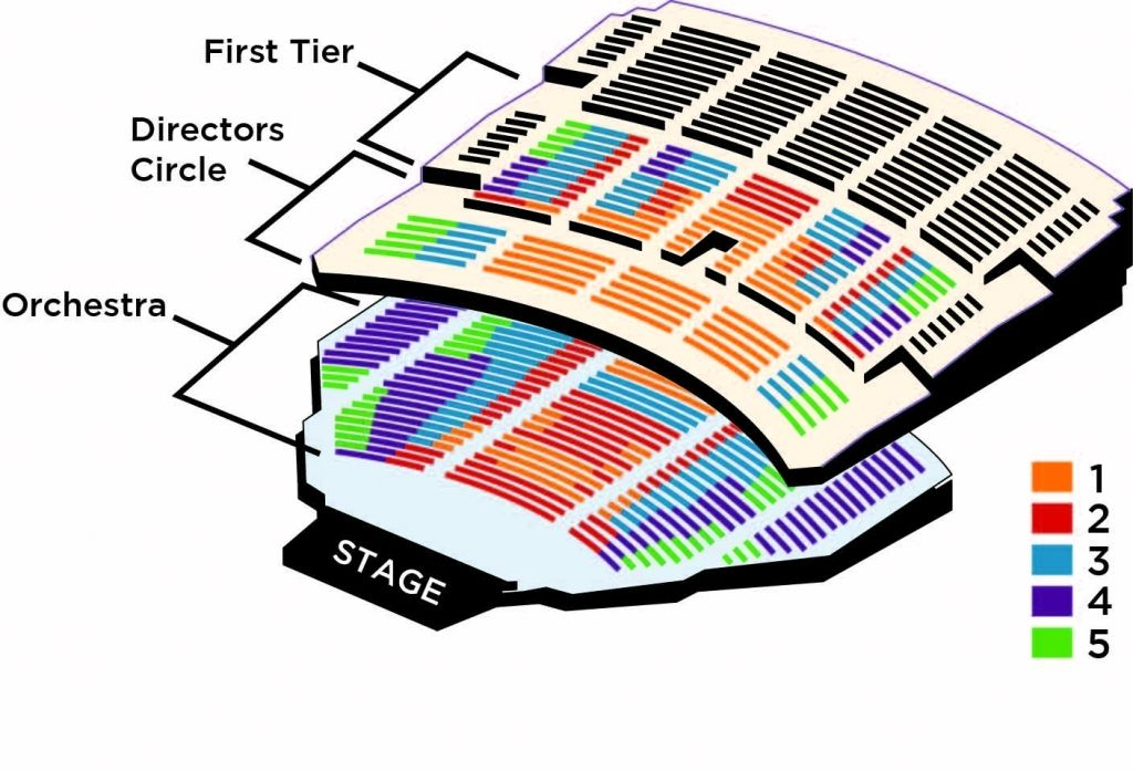 The Stylish Benedum Seating Chart In 2020 Seating Charts Theater Seating Chart