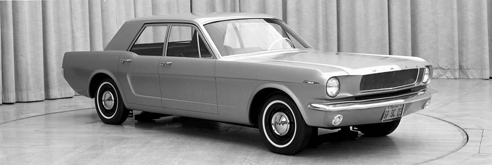1965 ford mustang 4 door prototype
