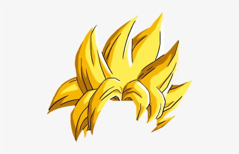 Dragon Ball Z Hair Png Goku Hair Hair Png Super Saiyan Hair