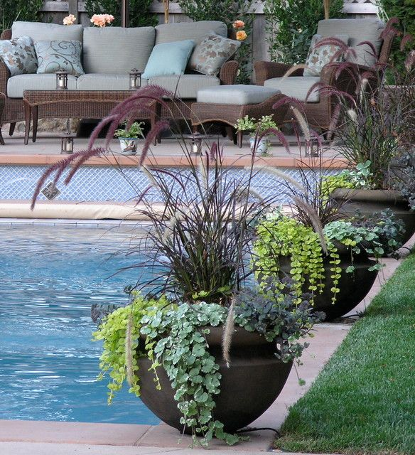 Container Gardening Design 2 Container Garden Design Pool Landscaping Plants