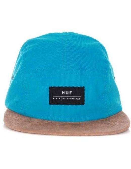 a96a5c969c7 HUF CLOTHING DEATH FROM ABOVE CORD VOLLEY - TURQUOISE - £ 24.95 ...