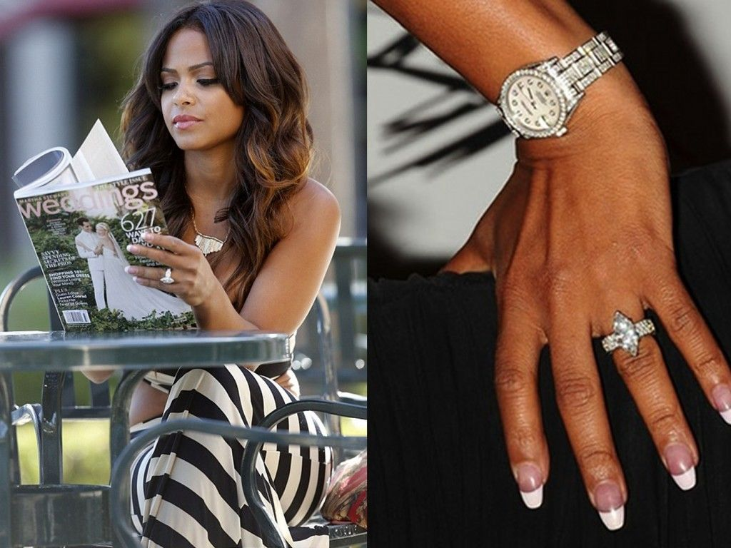 Marquise Cut Diamond Engagement Rings – A Favorite Choice For Top  Celebrities: Christina Milian