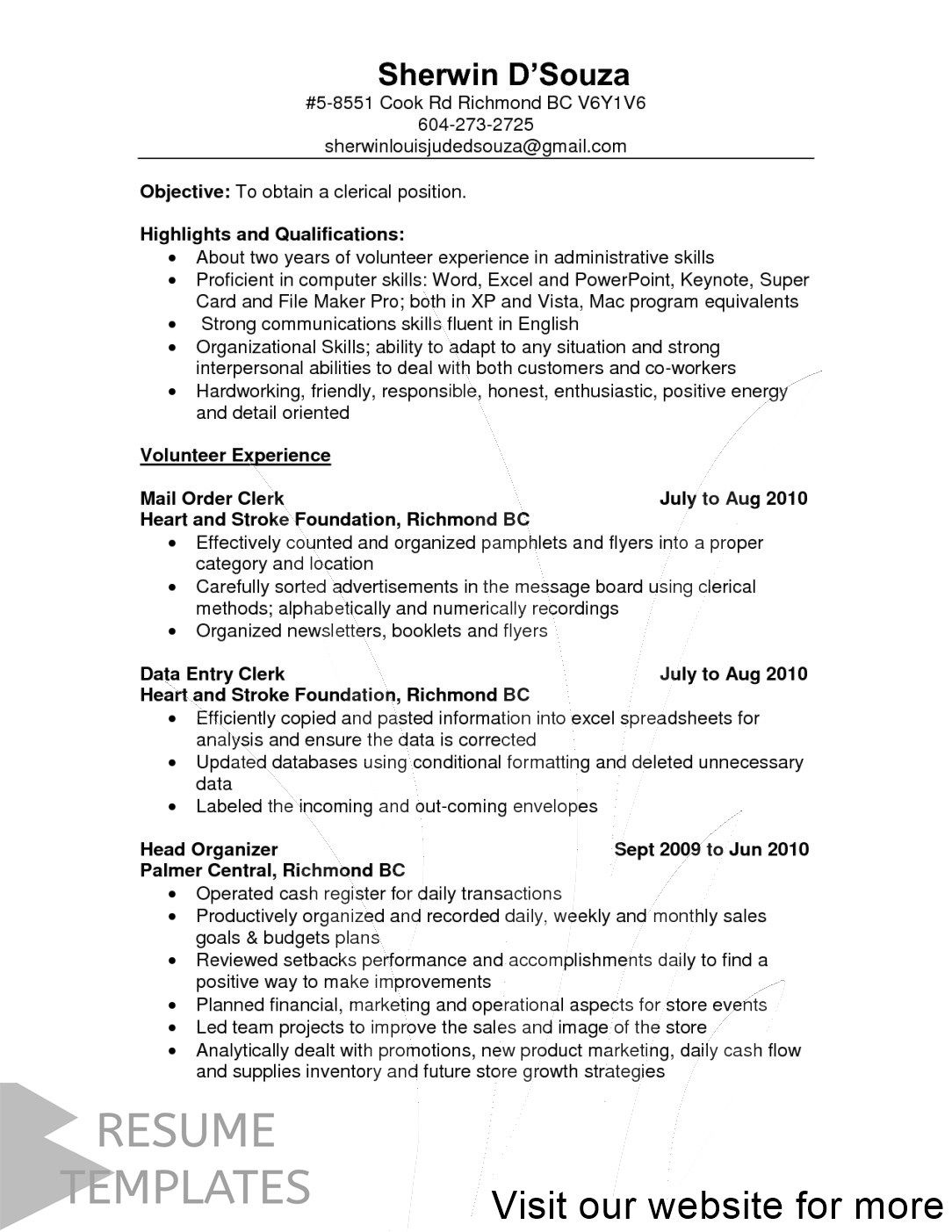 cover letter example marketing in 2020 Good resume