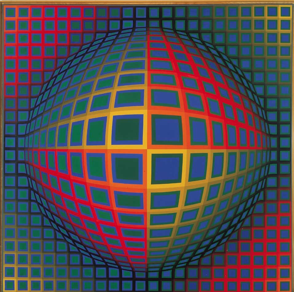 Risultati immagini per Victor Vasarely Vega-Nor (1969)