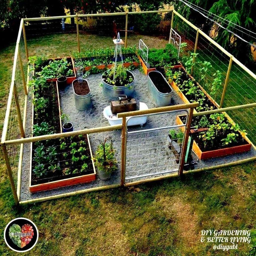 Photo of Jardín cercado – Walmart – #Garden #Garden esgrima #Walmart #fencing #garden