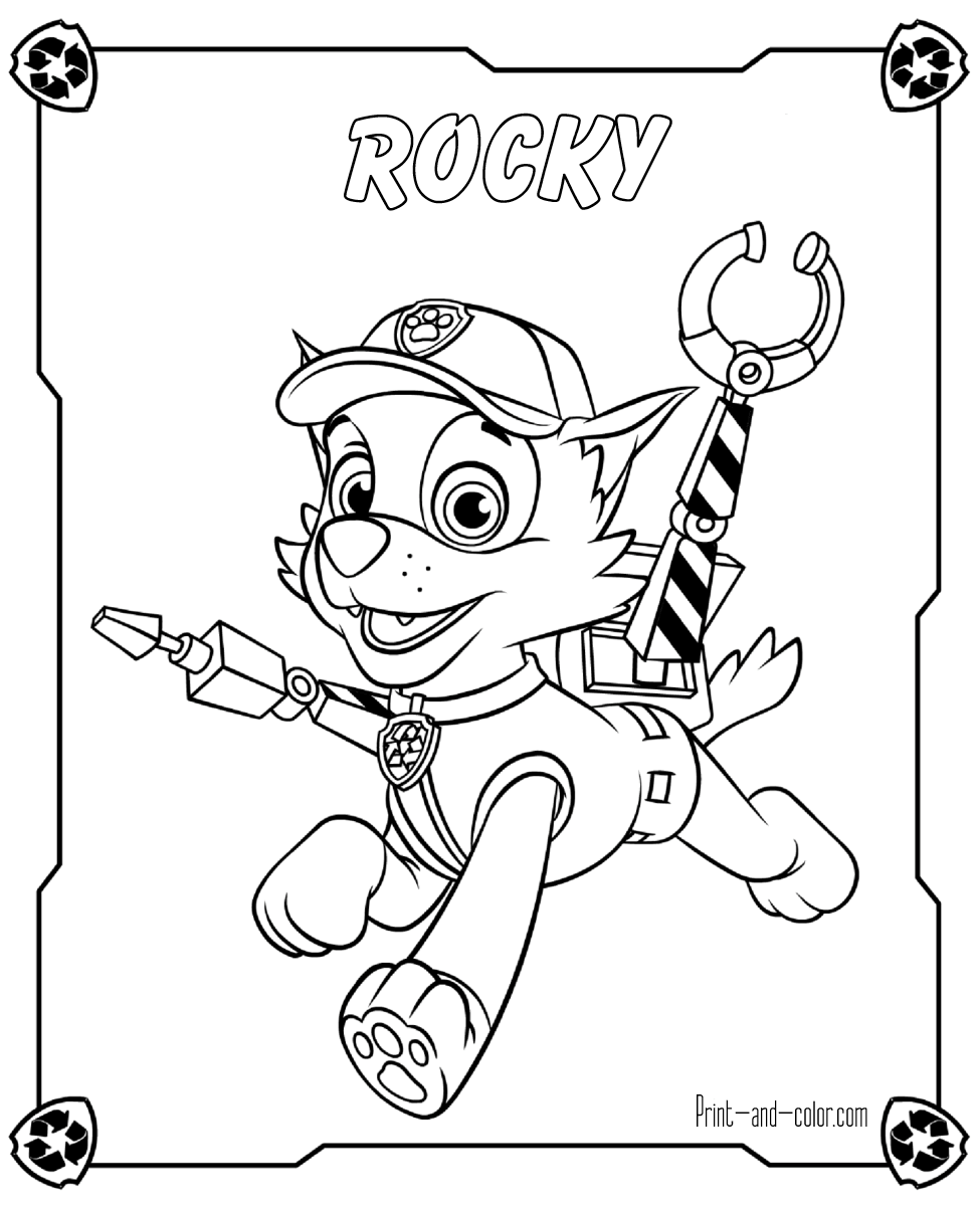 High quality printable coloring pages - There Are Many High Quality Paw Patrol Coloring Pages For Your Kids Printable Free In