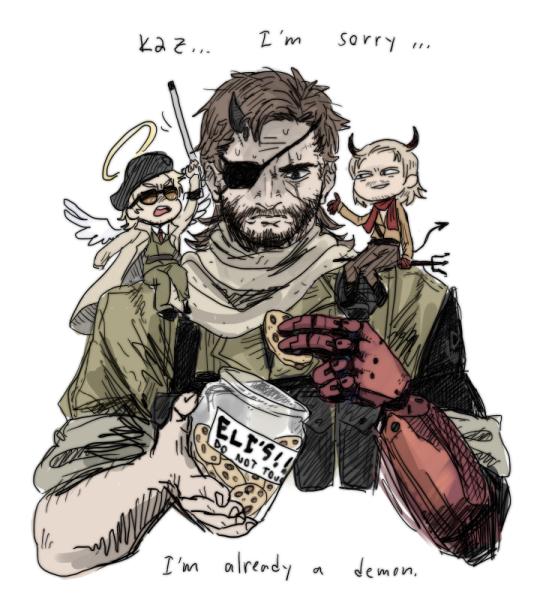 I M Already A Demon Lol Snake Metal Gear Metal Gear Series Metal Gear Solid