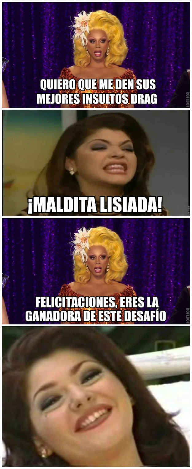 "Versión ""Ru Paul's Drag Race""."