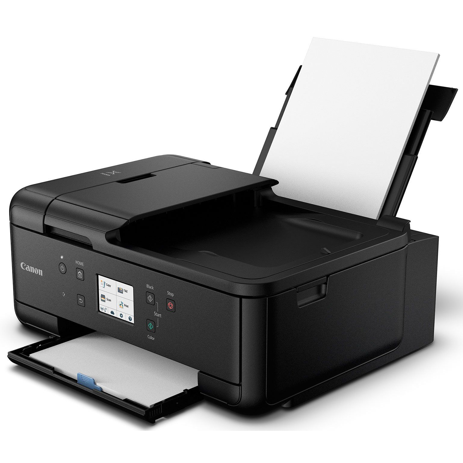 Canon Pixma Tr7520 Wireless Home Office Allinone Printer With General High Speed 6foot Usb Printer Cable And Corel Paint Printer Inkjet Printer Printer Scanner