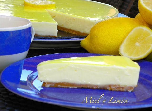 Miel y Limón : TARTA de Limón y Queso