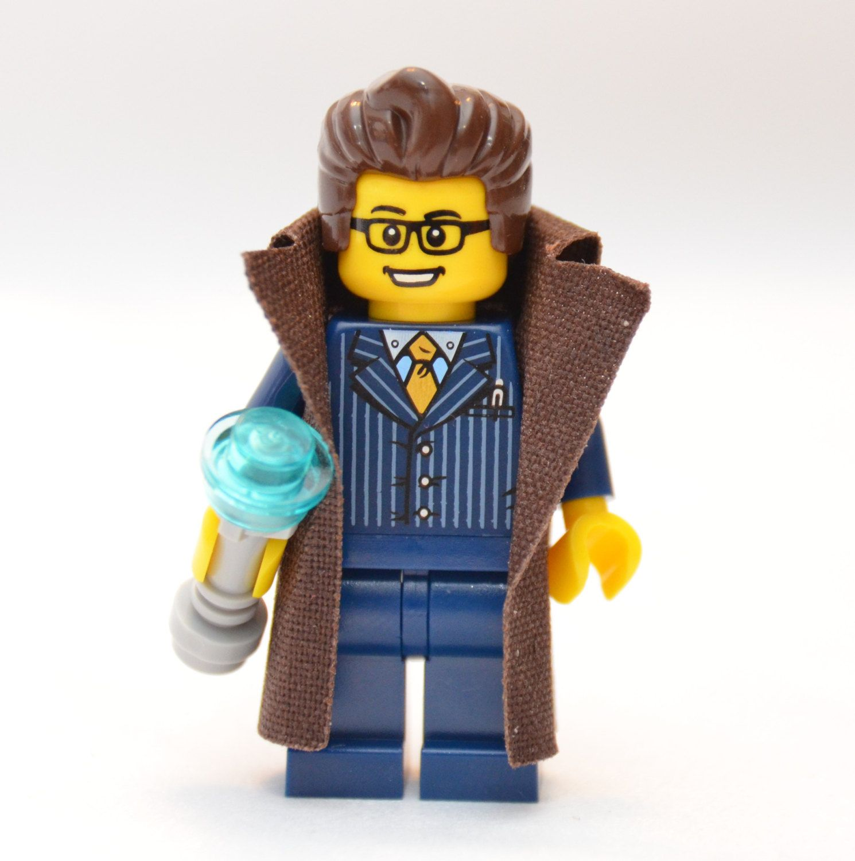 Doctor Who 10th Doctor Custom Lego Minifigure Whovian