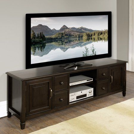 Simpli Home Connaught 72 Inch Wide Tv Stand Products In 2018