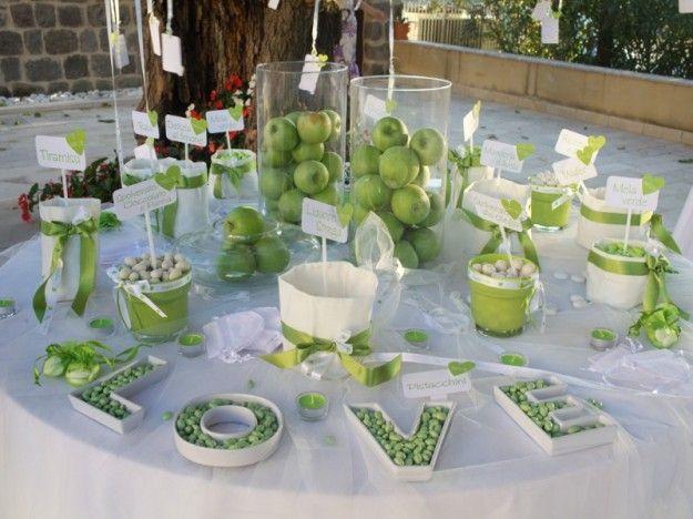 Matrimonio Tema Verde : La confettata i tavoli pinterest