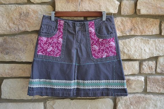 Women's Broken Skirt by SugarMeSweet on Etsy, $42.00