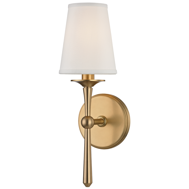 Buy Islip 1 Light Wall Sconce By Hudson Valley Lighting Made To Order Designer Sconces From Dering Hall S Collectio Wall Sconce Lighting Sconces Wall Sconces
