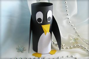 bastelanleitung f r pinguin aus papier trash polka. Black Bedroom Furniture Sets. Home Design Ideas